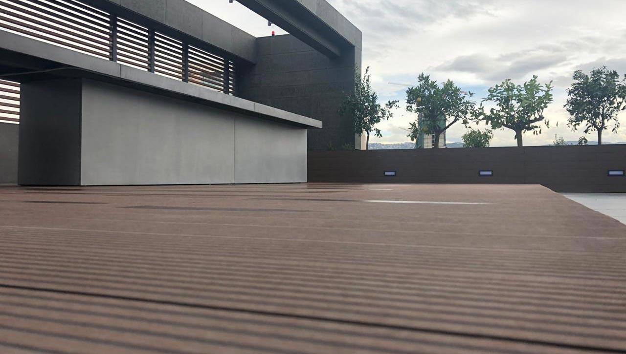 Wood Composite Decking - Quarter Ashrafieh